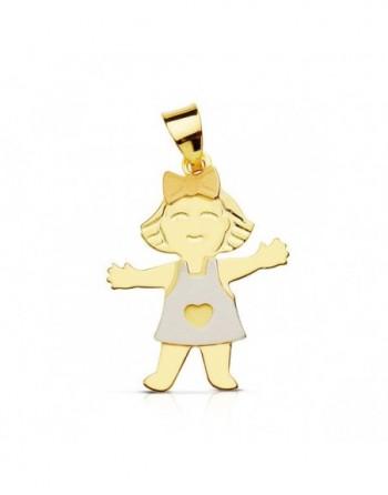 Colgantes oro 18k niña