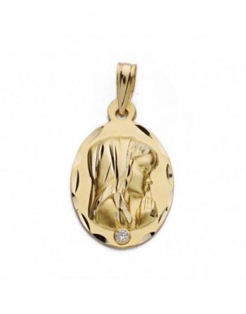 Medalla oval oro amarillo...